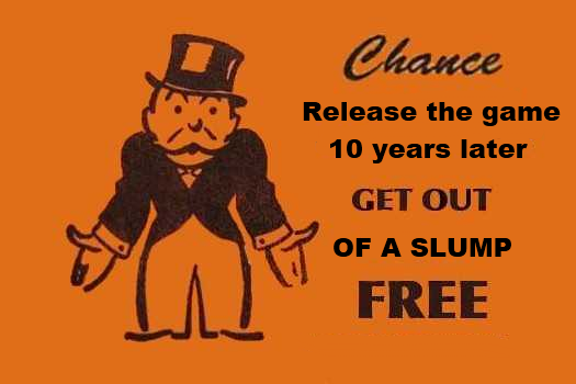 Monopoly custom card get out of a slump free