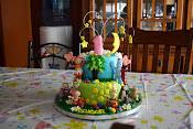 Night Garden cake