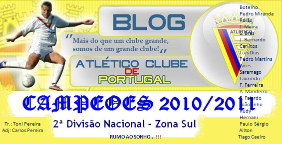 Blog do Atlético Clube de Portugal