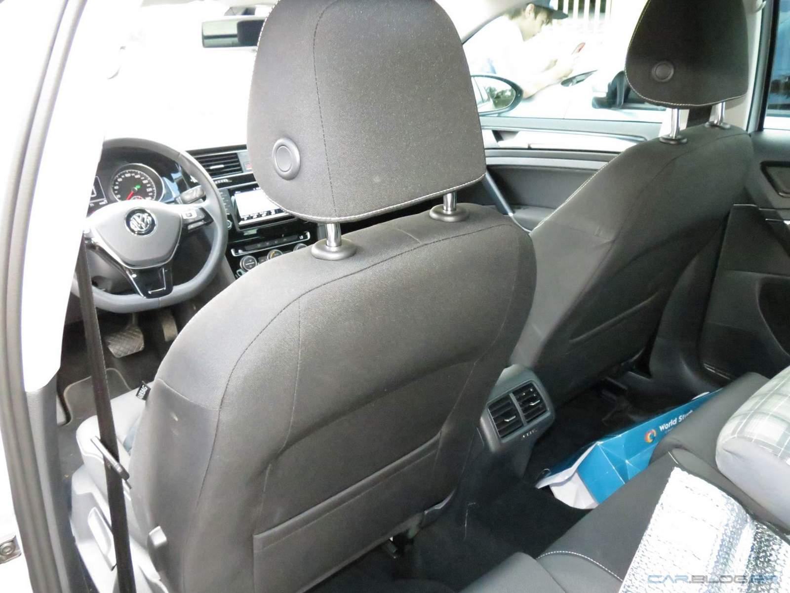 Golf TSI DSG Automático - espaço traseiro