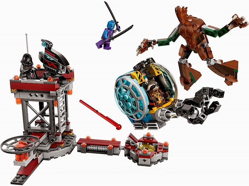 My Brick Store: Decool Guardian of The Galaxy (set of 6)