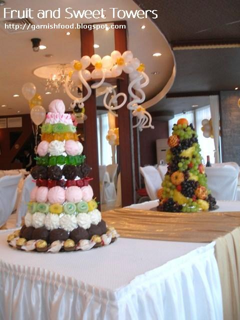 baby shower decoration fruit tower
