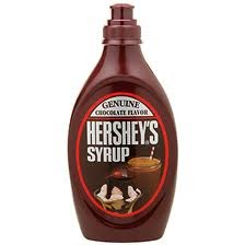 ... Hershey's Syrup... Looking for some allergy~friendly chocolate syrup