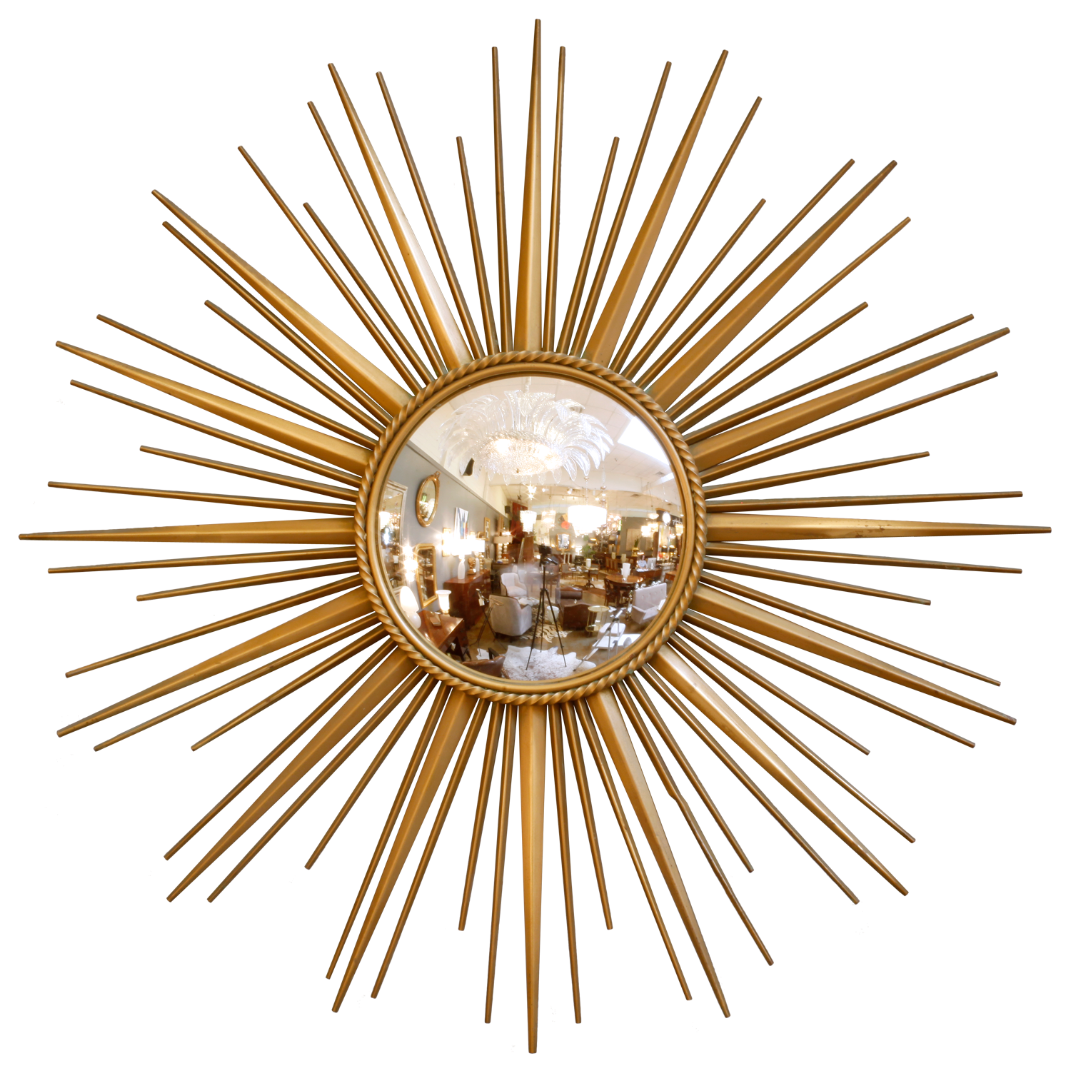 Gilded Round Wall Decor : Sybaritic spaces round mirrors to adorn your walls