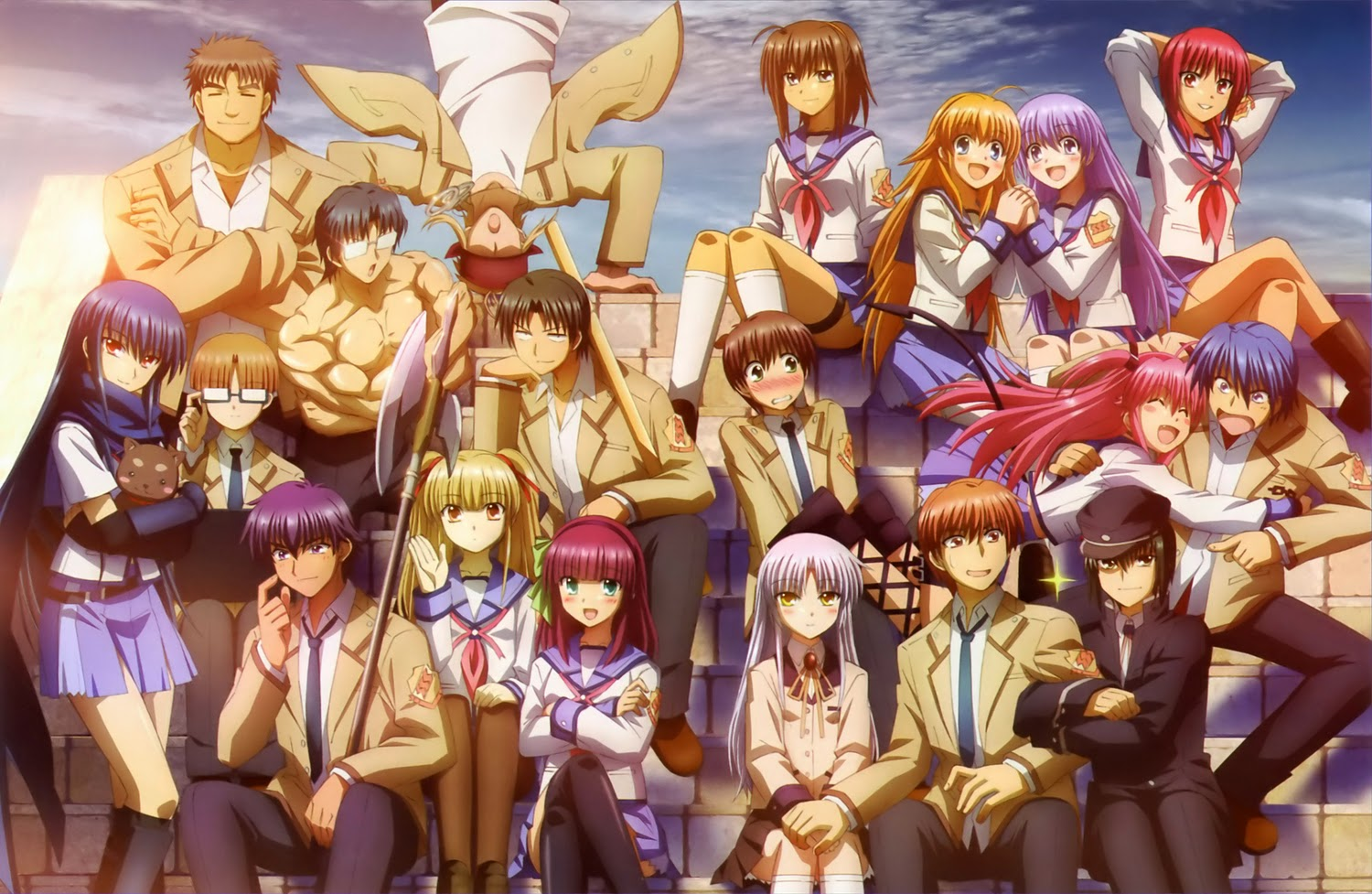 Angel Beats [13/13] + OVA + Final Alternativo [MF]