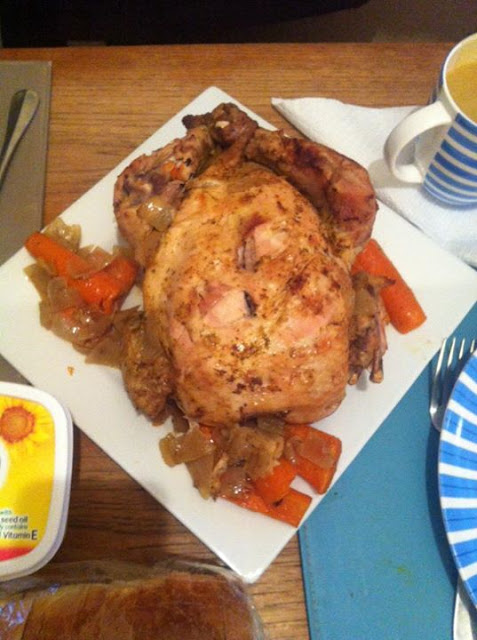 Chicken With Carrots and Onion Recipe