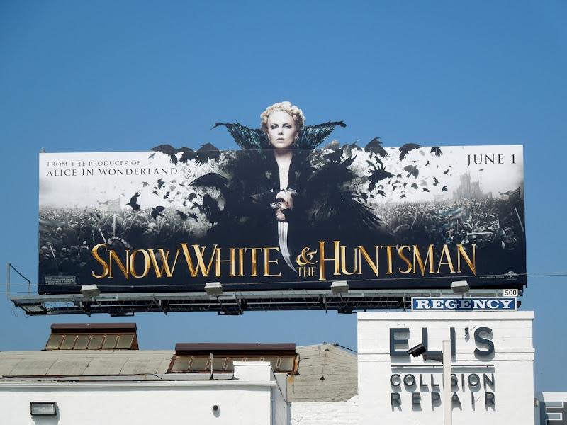 Snow White Huntsman Queen billboard