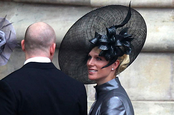 zara phillips hat. Zara philips, daughter of