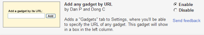 "Enable the ""Add any gadget by URL"" lab"