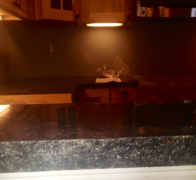 Granite Countertop Edge Chip Repair : recently used this chipped edge on a high countertop to highlight ...