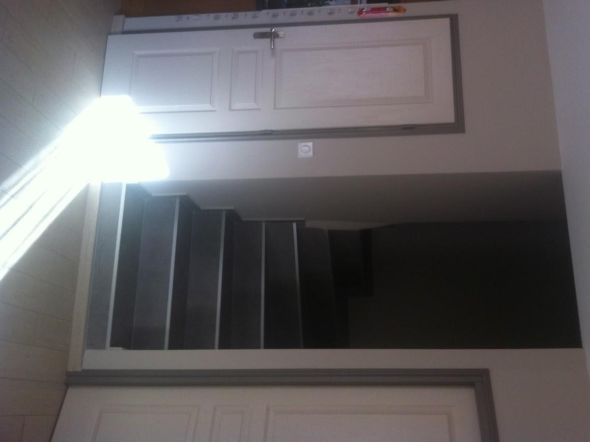 blog as de carreaux: escalier en carrelage effet béton ciré