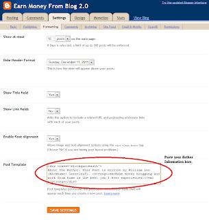 customize blogspot design