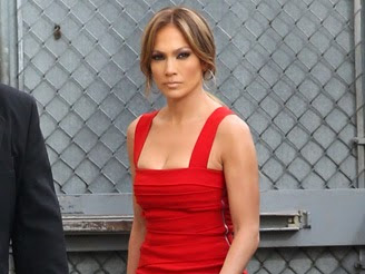 Jlo's Red Dress To-Steal For!