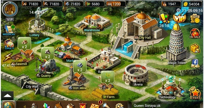 Age Of Warring Empire Altın Hilesi Android