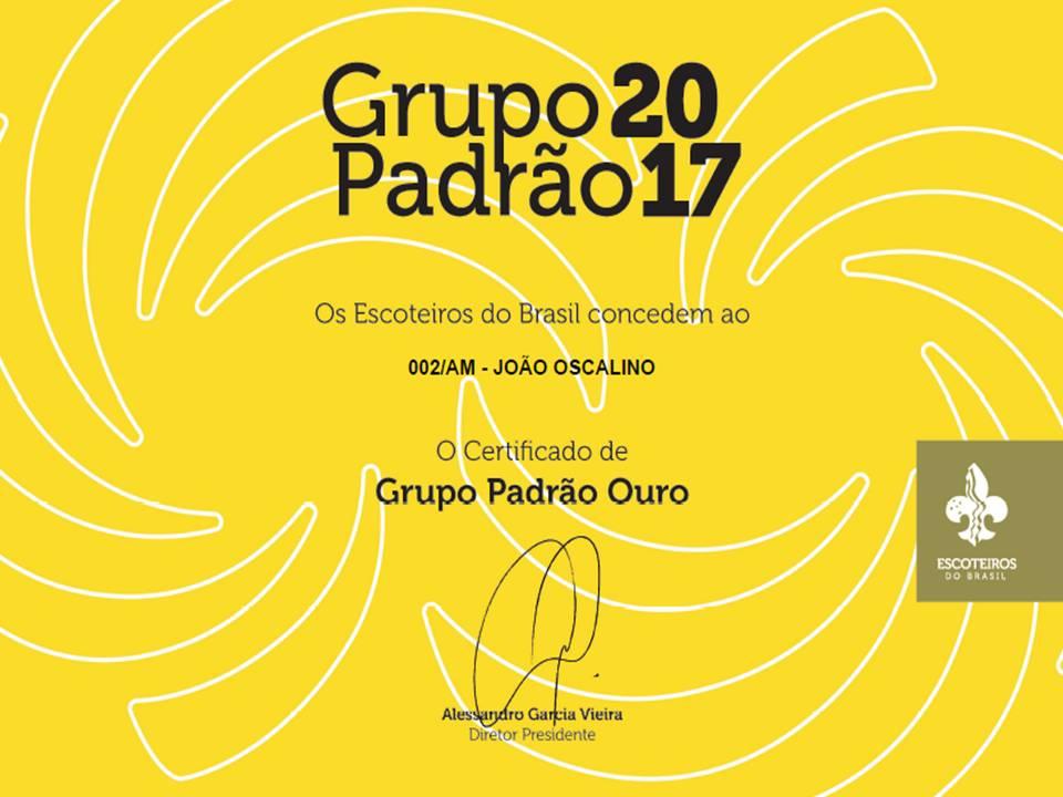 GRUPO PADRÃO OURO