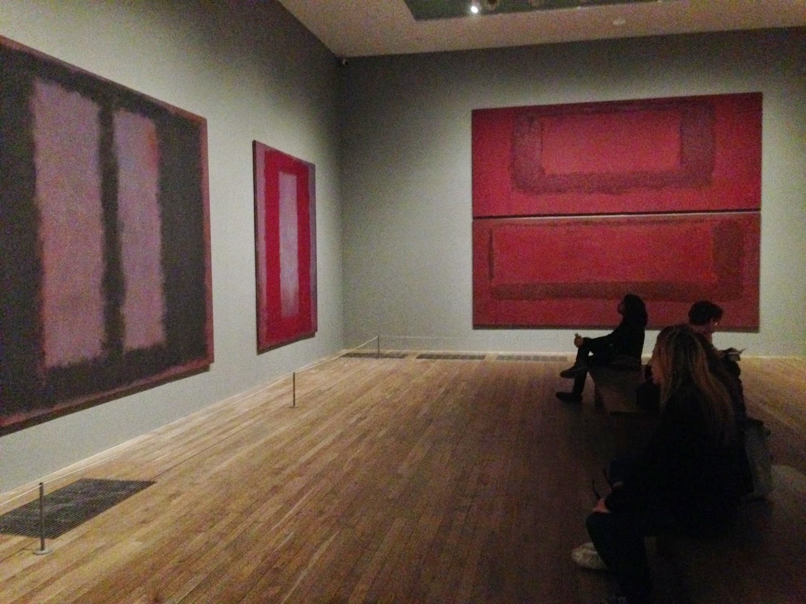 Rothko permanent exhibition tate modern london for Seagram building ppt