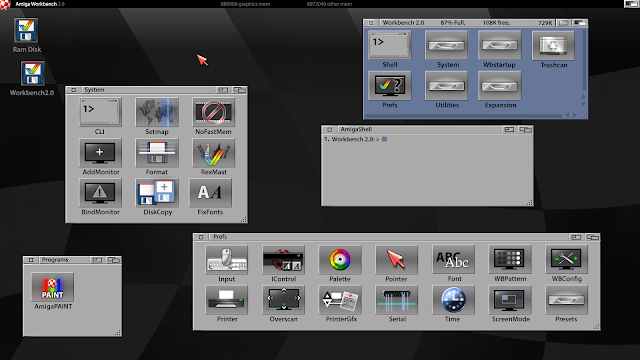 Amiga Workbench 2.0 - Remake