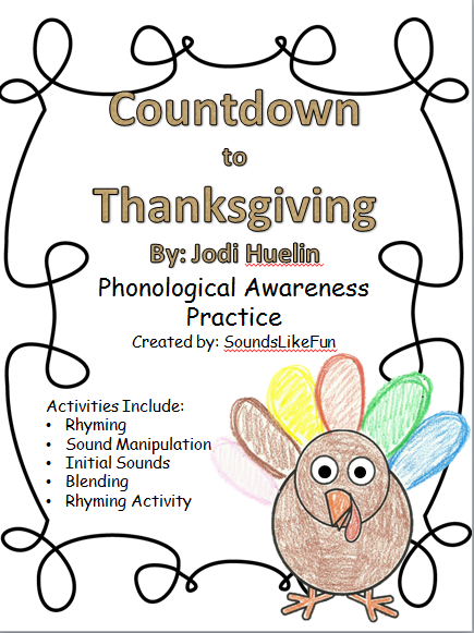 http://www.teacherspayteachers.com/Product/FREE-Countdown-to-Thanksgiving-Phonological-Awareness-Practice-1567602