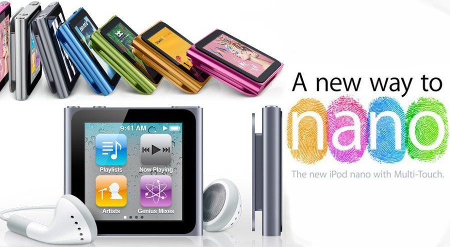 Fort Really: Apple iPod Nano 6th Generation