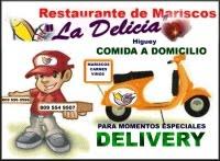 """DELIVERY PARA MOMENTOS ESPECIALES - Restaurante Mariscos y Carne """"LA DELICIA"""""""