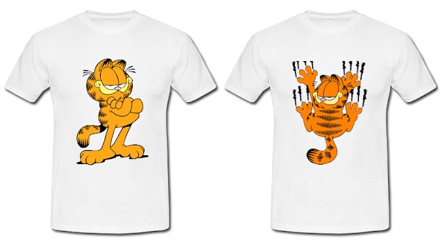 Koszulki Garfield