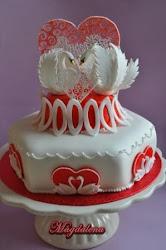 Valentine Cakes.