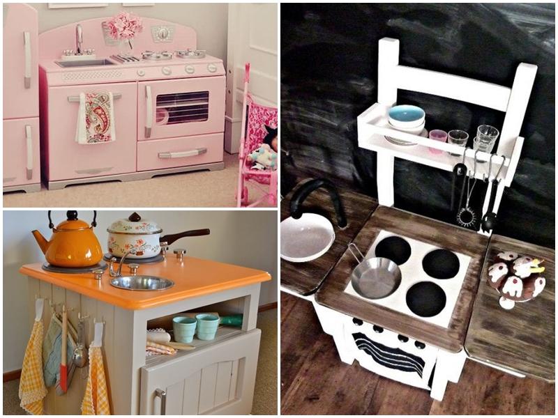 Chwytając chwile pl Drewniana kuchnia dla Malucha -> Kuchnia Drewniana Dla Dzieci Diy