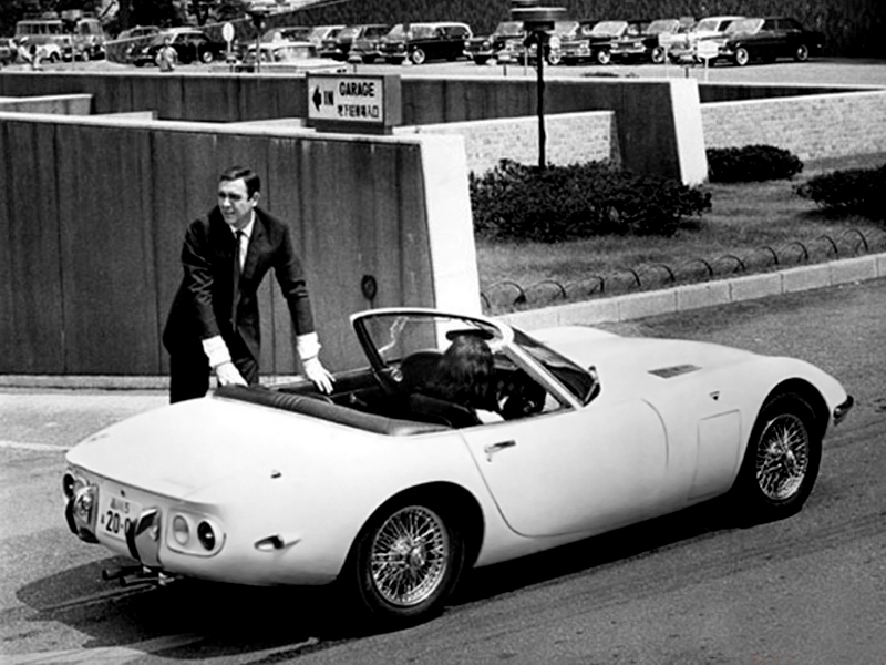 fab wheels digest f w d 1967 toyota 2000gt convertibles in the james bond film you only. Black Bedroom Furniture Sets. Home Design Ideas