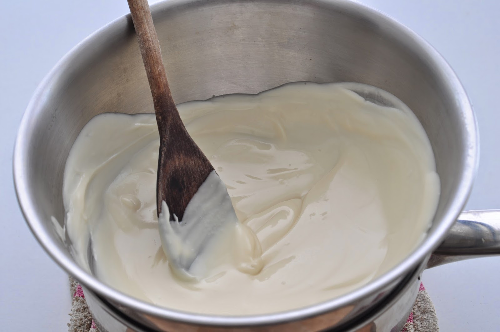 Mint Infused White Chocolate Sauce ~ Simple Food