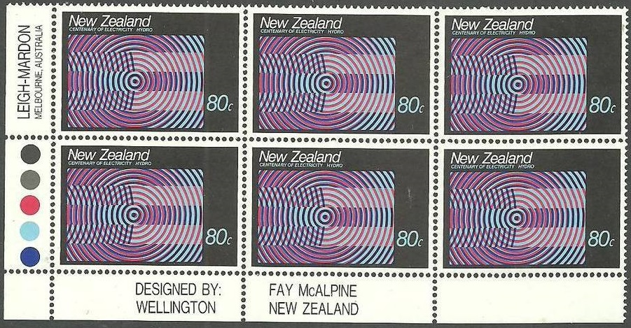 Virtual New Zealand Stamps: 1988 - Centenary of Electricity