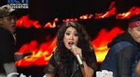 CLARISA - FIGHTER (Christina Aguilera) - Grand Final - X Factor Indonesia 2015