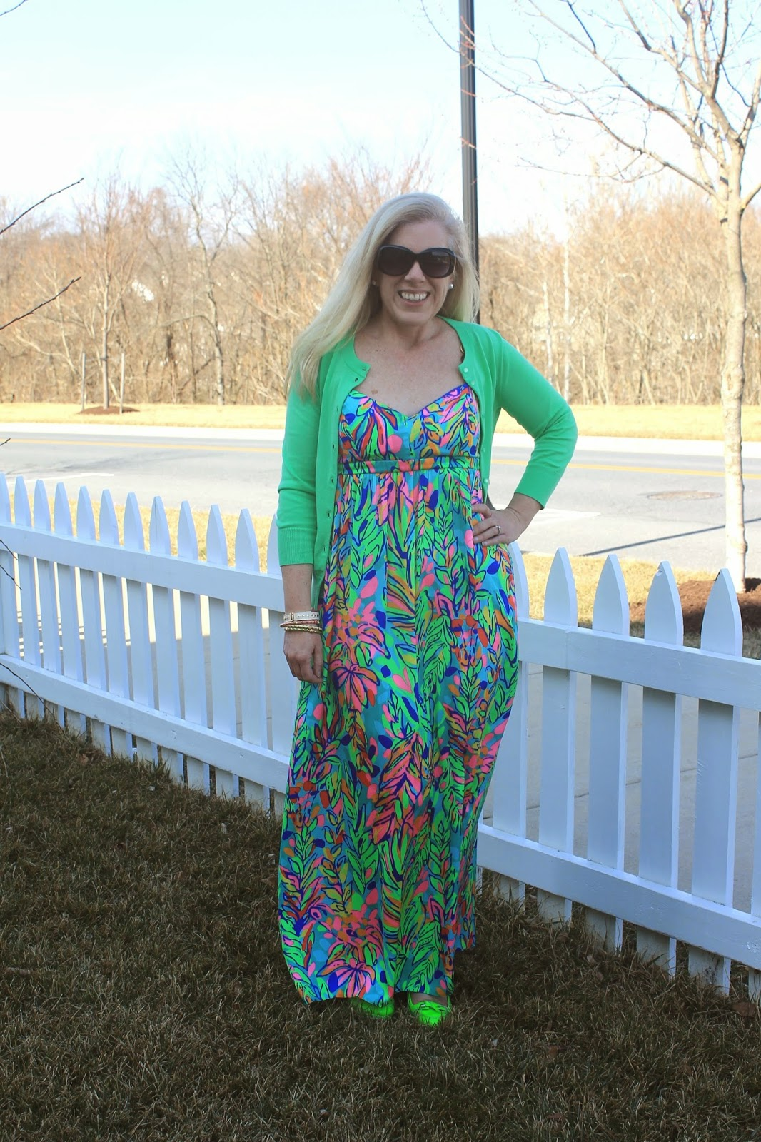 lilly pulitzer joanna maxi dress review
