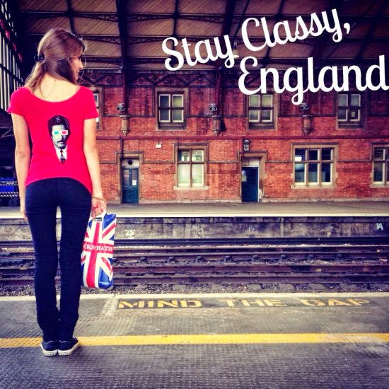 Stay Classy and Mind The Gap