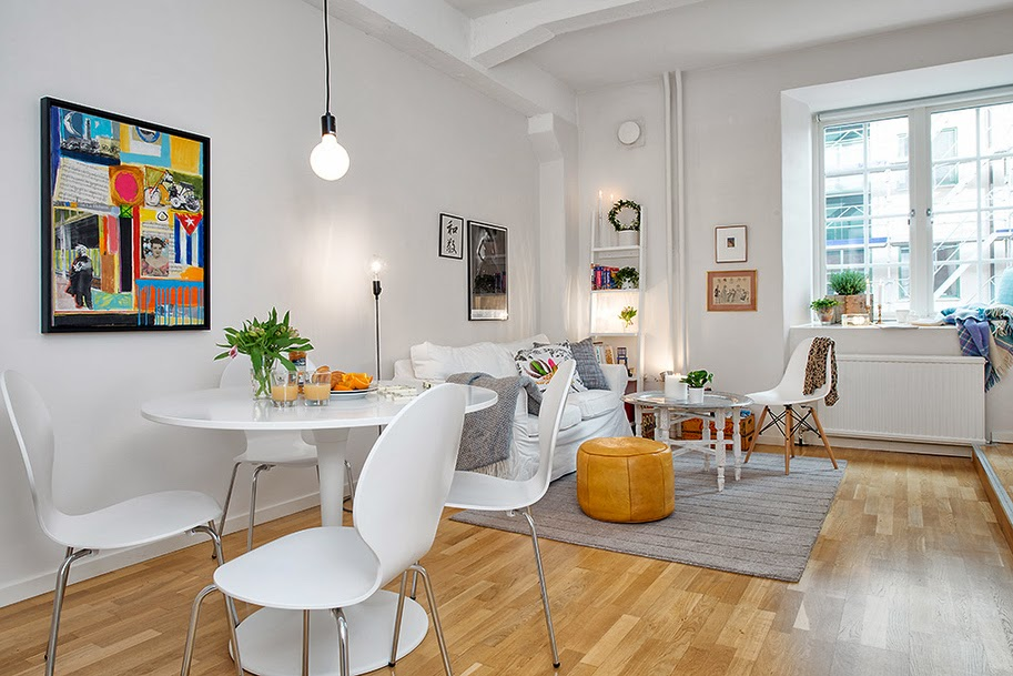 garsonier de 40 m jurnal de design interior. Black Bedroom Furniture Sets. Home Design Ideas