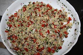 ricetta taboulè libanese