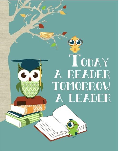 Hoy un lector, mañana un líder
