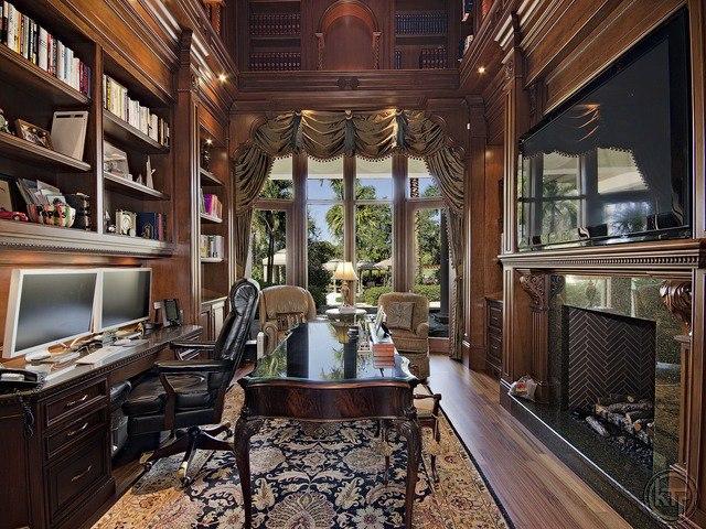 Love This Elegant Office