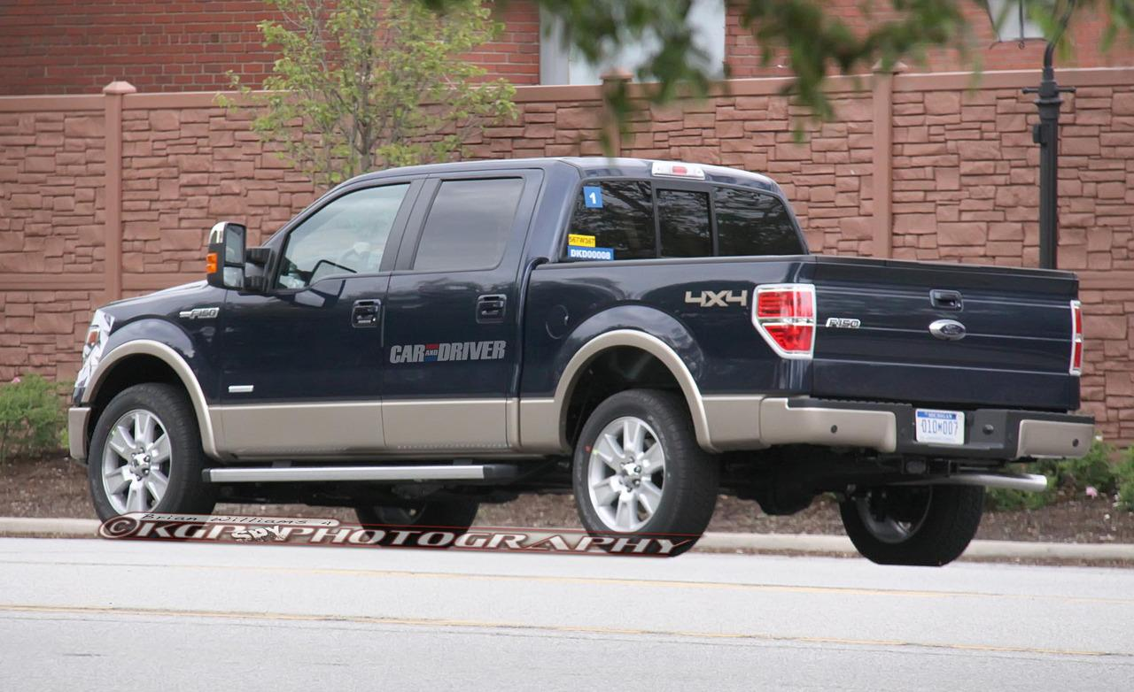 naked 2013 ford f 150 new spy photos garage car. Black Bedroom Furniture Sets. Home Design Ideas
