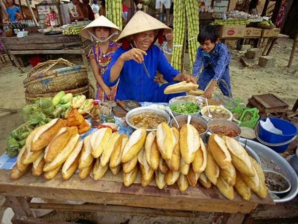 Banh Mi sandwiches, Vietnam