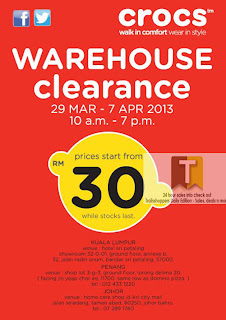 Crocs Warehouse Clearance 2013