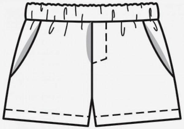 Patrones de shorts para bebé - Imagui