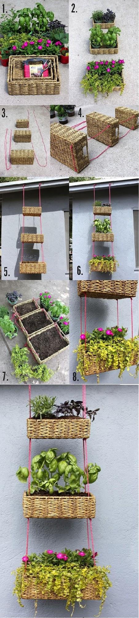 Hanging+basket+garden+diy