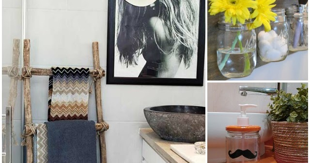 Decoracion De Baños Facil:Decoración Fácil: 6 diy low-cost para el baño