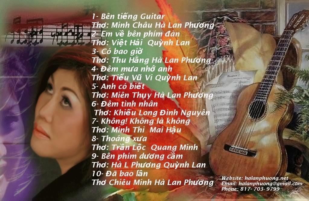 CD Bên tiếng guitar
