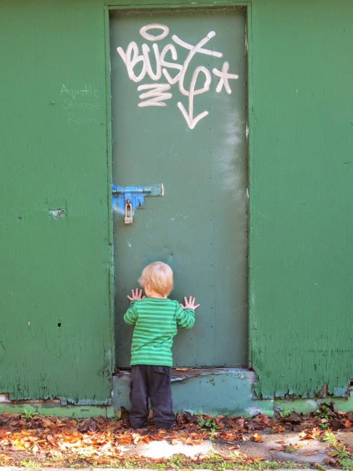 toddler in time-out