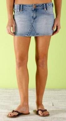 Minifalda jean