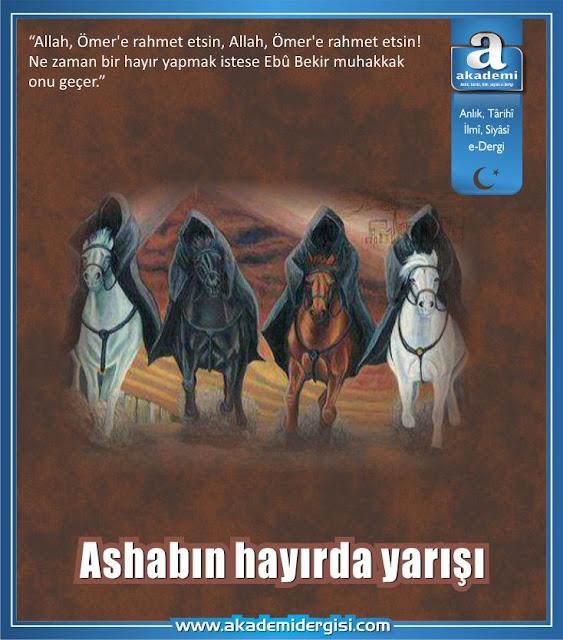 Ashabın hayırda yarışı