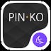 تحميل تطبيق اليساري للاندرويد  Pinko theme for APUS Launcher