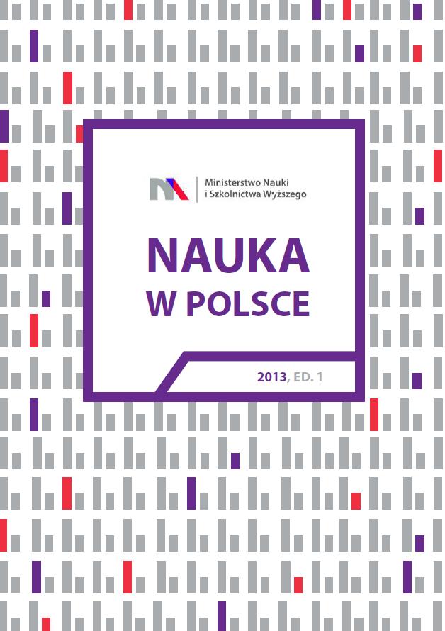 """Okładka raportu """"Nauka w Polsce"""", który opublikowało Ministerstwo Nauki i Szkolnictwa Wyższego"""