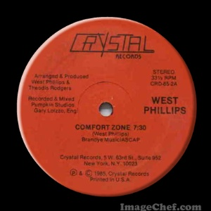 WEST PHILLIPS - Comfort Zone